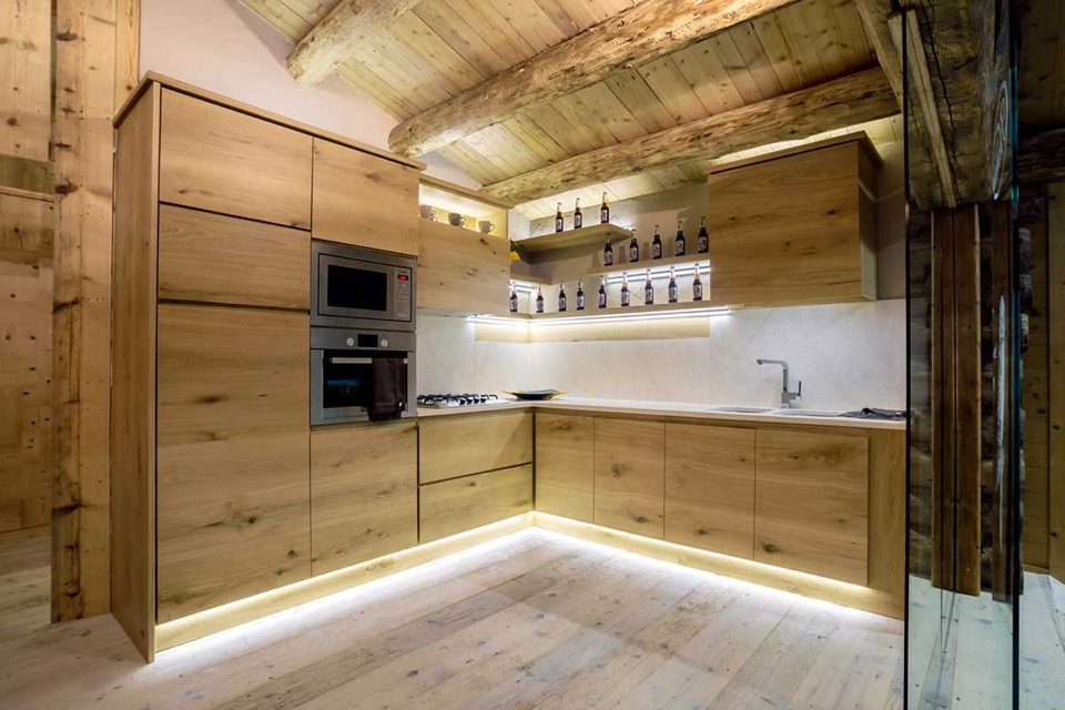 Montain Kitchen Oak