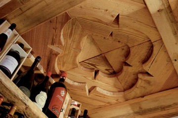 wooden ceiling hermannwood1976