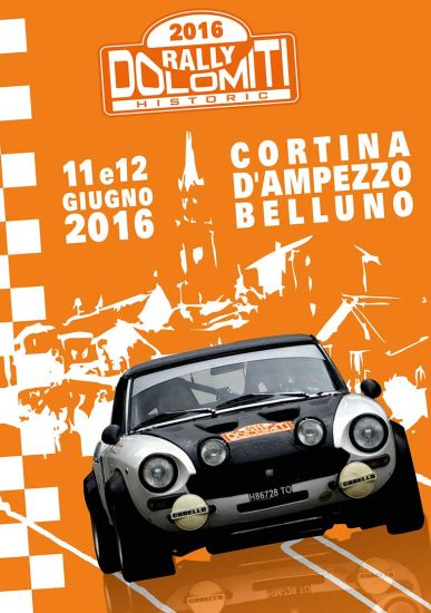 Sponsor del Rally Dolomitic Historic 2016